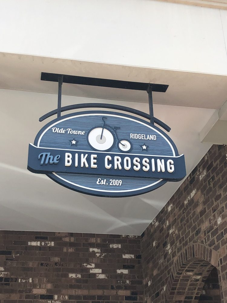 The Bike Crossing: 115 W Jackson St, Ridgeland, MS