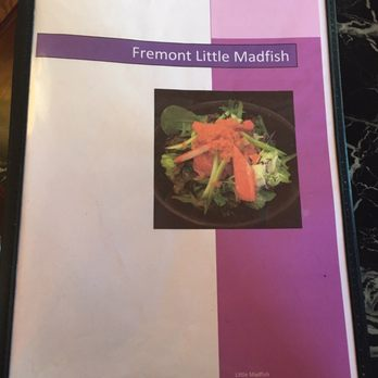 Little madfish 841 photos 964 reviews japanese for Mad fish menu