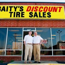 Used Tires Greensboro Nc >> Baity Discount Tire Sales Tires 2406 Merritt Dr Greensboro Nc