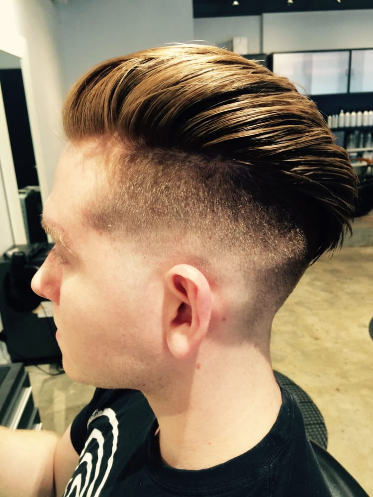 Skin Fade Undercut Done By Barber And Stylist Maria Trained In Both Men S And Women S Hair