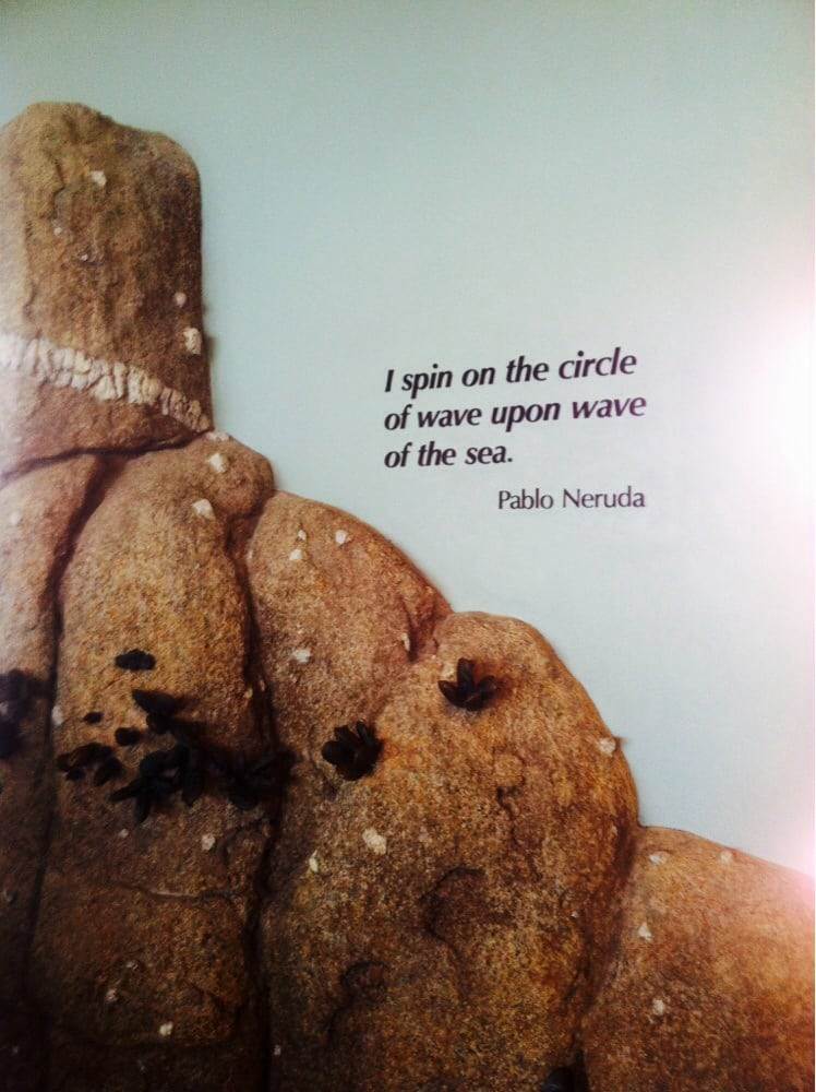 Quote by one of my favorite poets, Pablo Neruda and wall art before