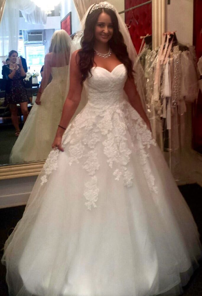 $850 included jewelry, vale, tiara, and alterations! Dress has an ...