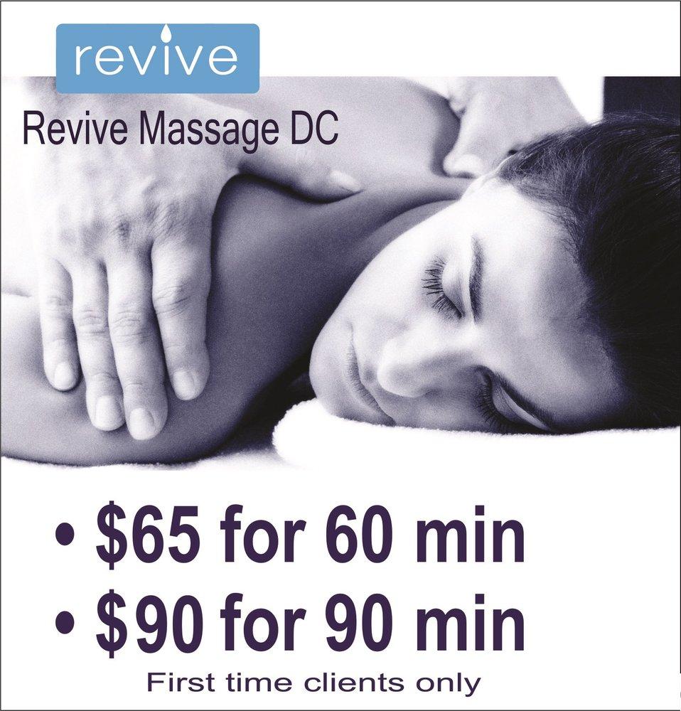 Revive Massage DC - 27 Photos & 332 Reviews - Massage - 1329