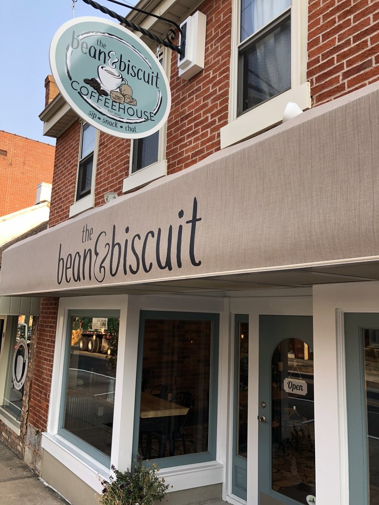 The Bean & Biscuit: 18 E Baltimore St, Greencastle, PA