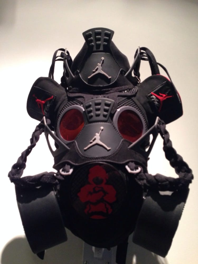 Jordan gas mask one of a kind special display at rosewood yelp photo of rosewood san diego san diego ca united states jordan gas voltagebd Images
