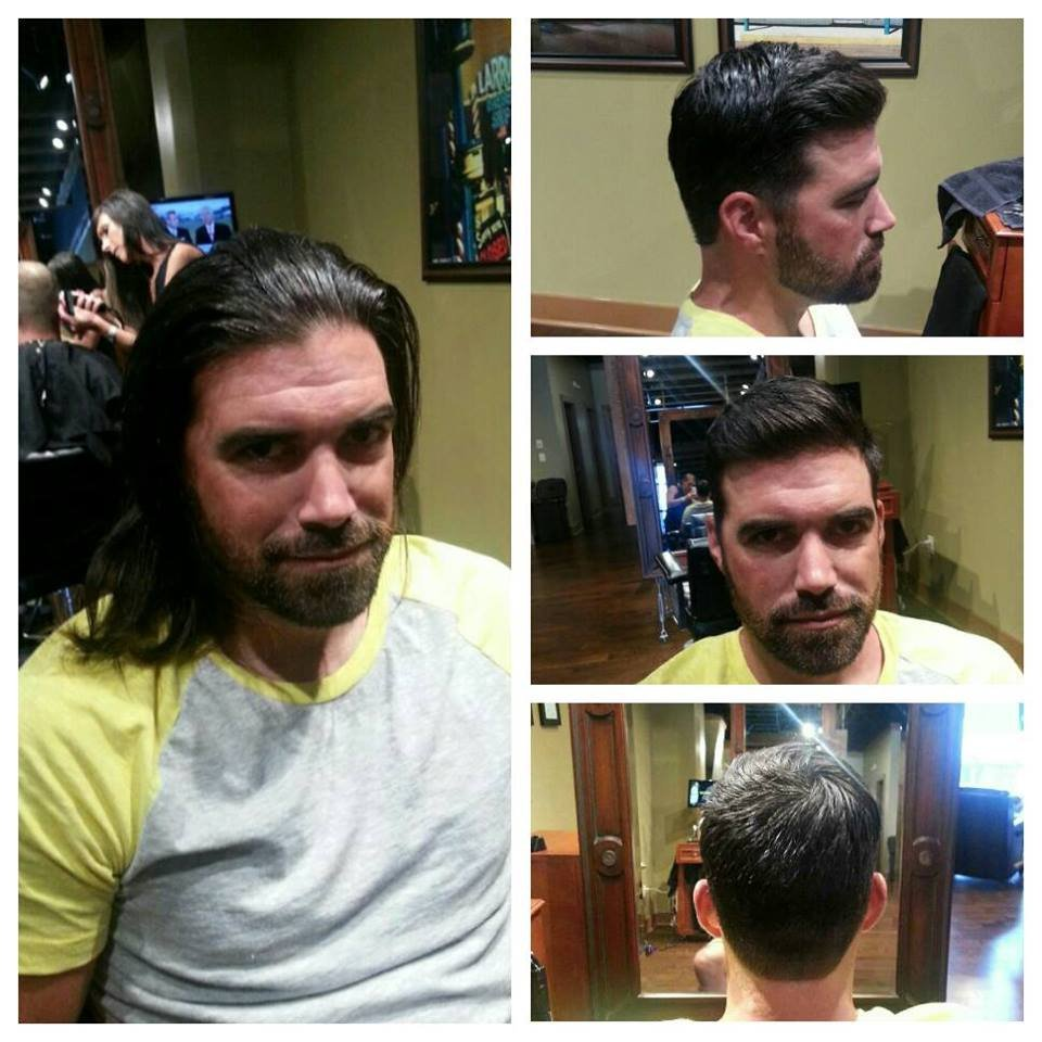 Before And After Mens Haircut At Shear Excellence Yelp