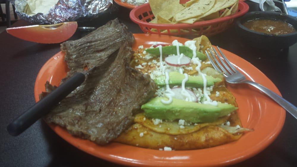 Photo Of La Poblana Rochester Mn United States Carne Asada And Enchiladas