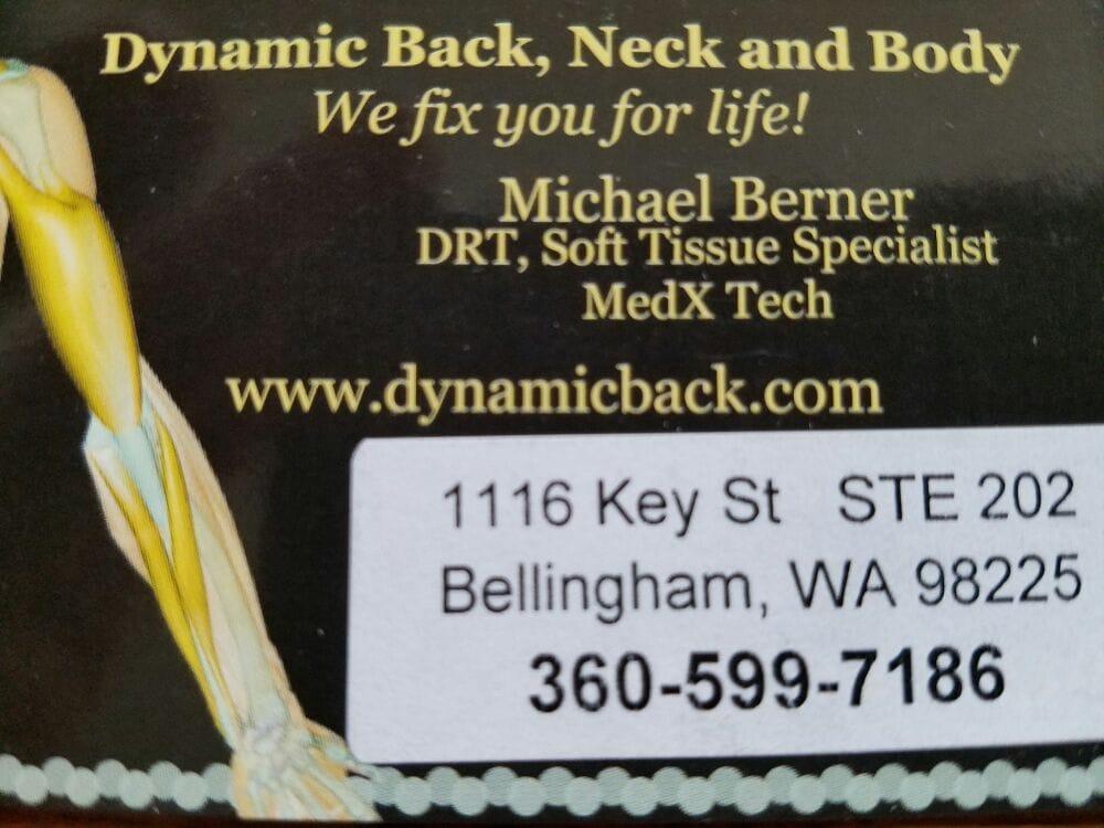 Dynamic Back, Neck and Body: 1116 Key St, Bellingham, WA
