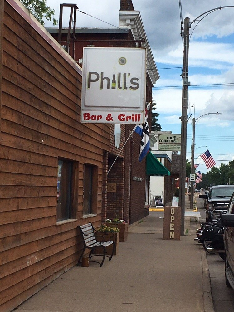 Phill's Bar & Grill: 519 2nd St, Chetek, WI