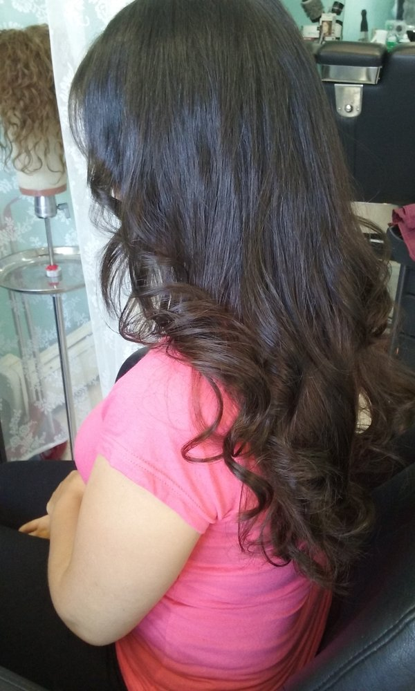 After pr hair extensions installation style yelp photo of pr hair extensions salon nyc queens ny united states after pmusecretfo Image collections