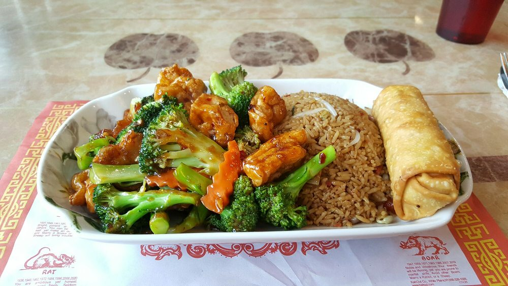 Food from Lucky Dragon