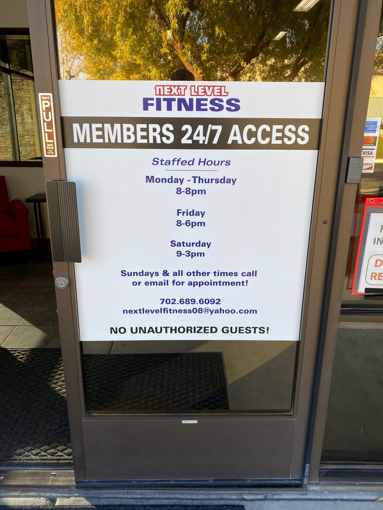 Next Level FItness: 9325 S Cimarron Rd, Las Vegas, NV