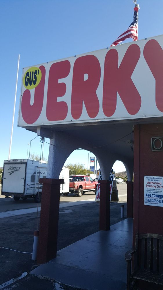 Gus' Fresh Jerky: 675 US Hwy 95, Searchlight, NV