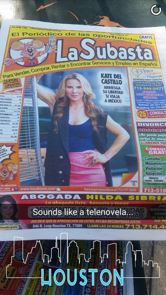La Subasta Newspaper