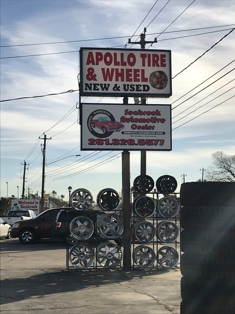 Apollo Tire & Wheel: 3722 Nasa Rd 1, Seabrook, TX