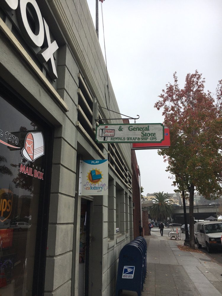 Private Mailbox and General Store: 484 Lake Park Ave, Oakland, CA