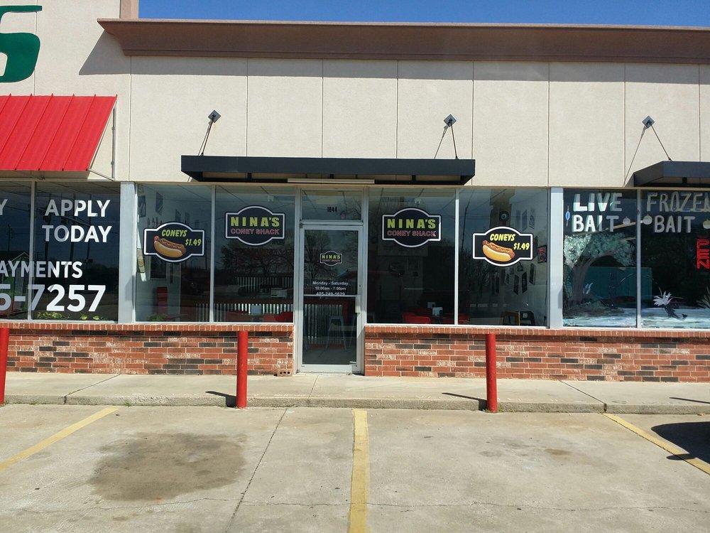 Nina's Coney Shack: 1044 N Douglas Blvd, Midwest City, OK