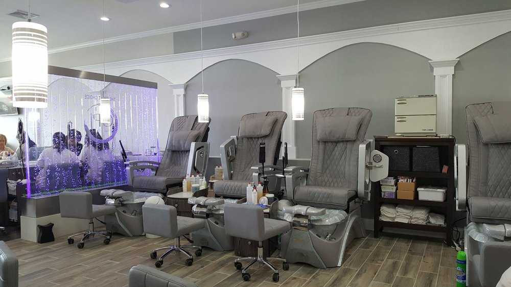 Photo of OPJ Nails Salon - North Smithfield, RI, United States. New pedi chairs