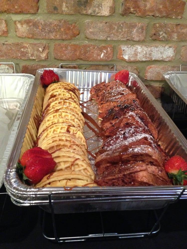 Sunday brunch buffet, red velvet French toast!! - Yelp