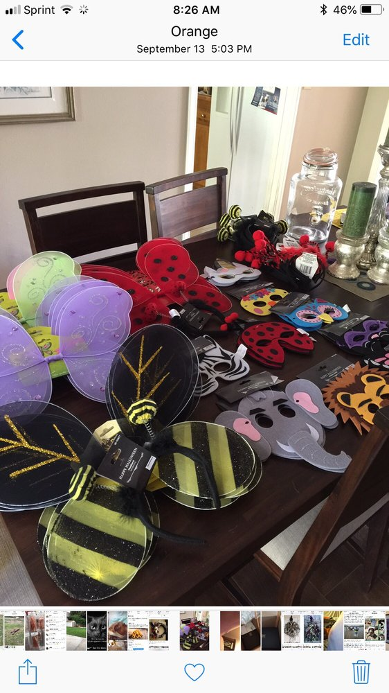 The Cutest Little Wings For Halloween Costumes. Note: Felt ...