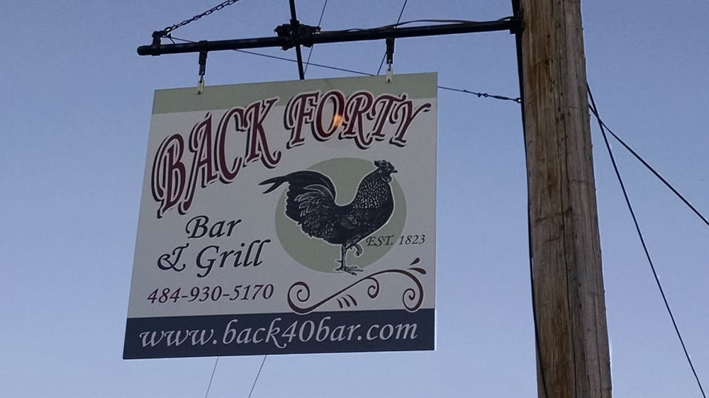 The Back Forty Restaurant Pa