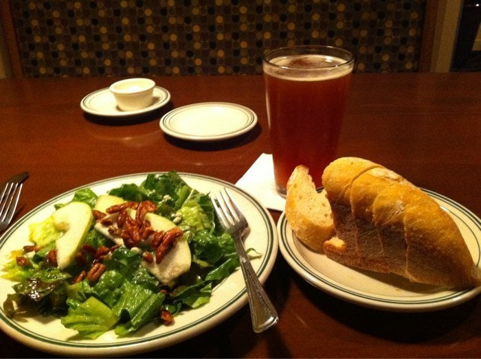 Pear pecan and blue cheese salad with a mac jack 39 s ale for Big fish kirkland