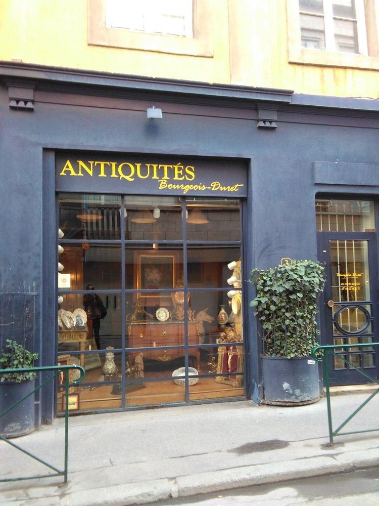 bourgeois duret antiquites antiquaires 3 rue auguste comte bellecour lyon num ro de. Black Bedroom Furniture Sets. Home Design Ideas
