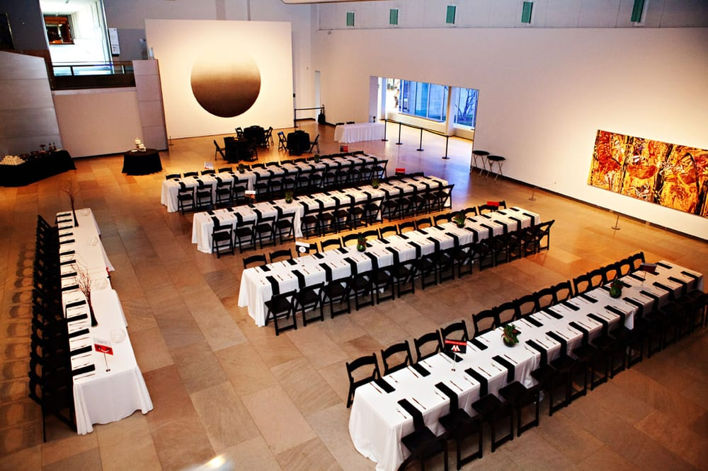 Wedding Reception At The Phoenix Art Museum Catered By Santa