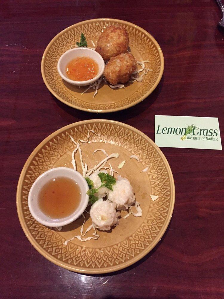 Food from Lemon Grass Thai Restaurant