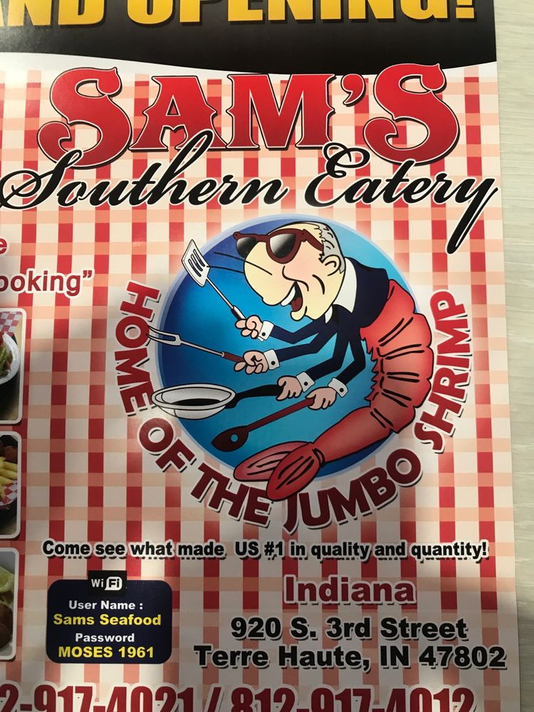 Food from Sam's Southern Eatery