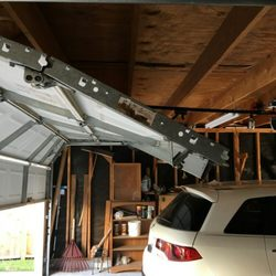 Photo Of 911 Garage Door Service   Houston, TX, United States. This Was