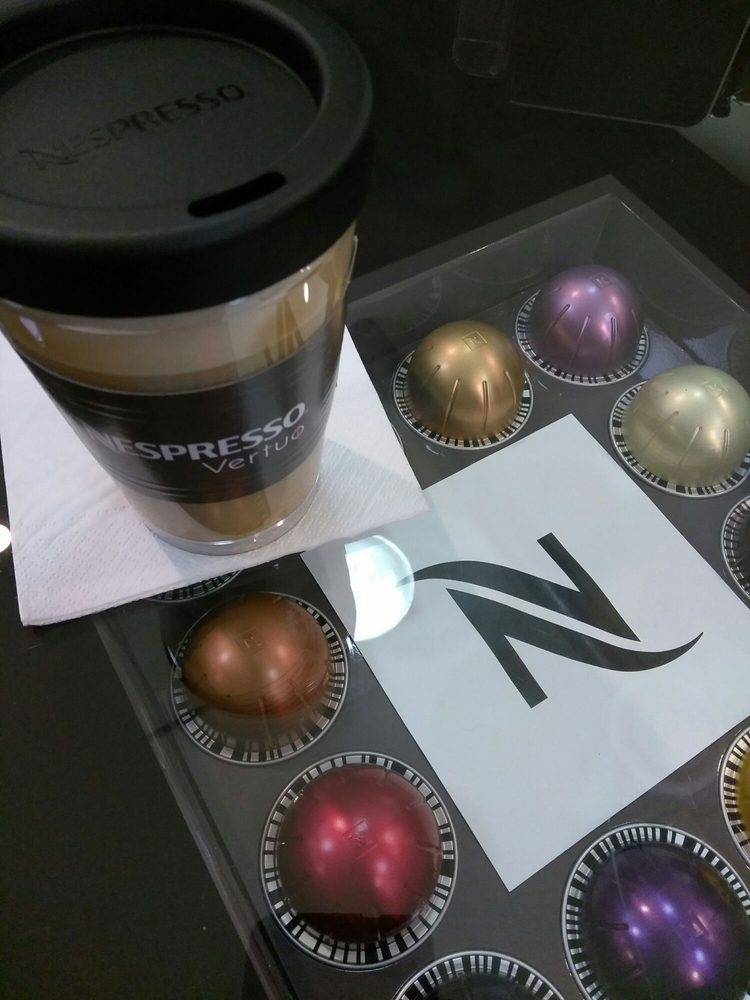 Nespresso Boutique at Sur la table