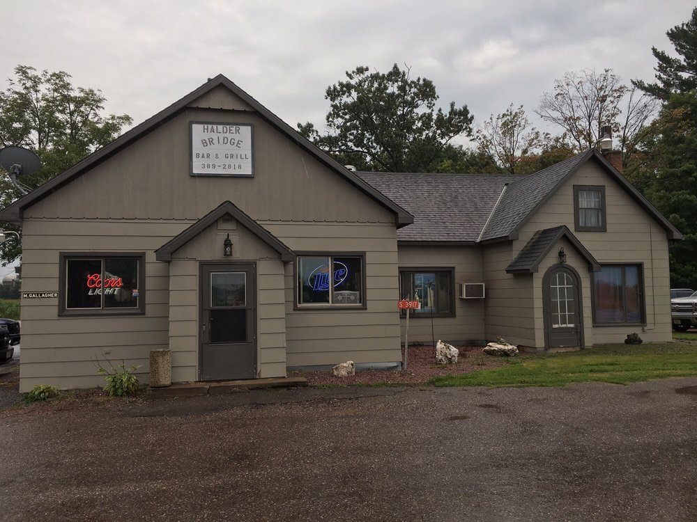 Halder Bridge Bar: 3917 W County Road C, Mosinee, WI