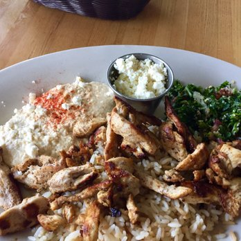 photo of anitas kitchen ferndale mi united states chicken shawarma lunch plate - Anitas Kitchen