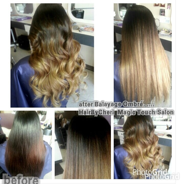 Corrective color balayage ombr by cheri yelp for Color touch salon