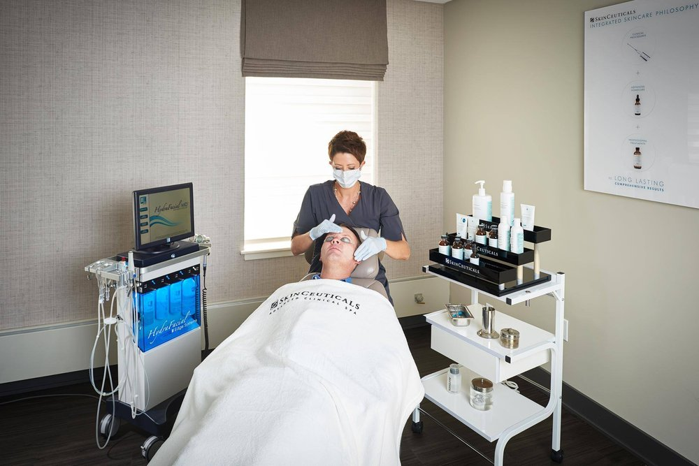 The SkinCeuticals HydraFacial Integrated Treatment delivers