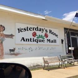 antique stores salina ks Yesterday's Rose Antique Mall   Antiques   101 NE 21st, Abilene  antique stores salina ks