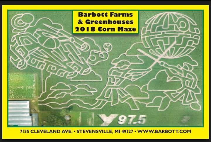 Barbott Farms & Greenhouses: 7155 Cleveland Ave, Stevensville, MI