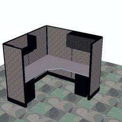 Photo Of Office Furniture Solutions   Phoenix, AZ, United States. 6x6  Cubicle