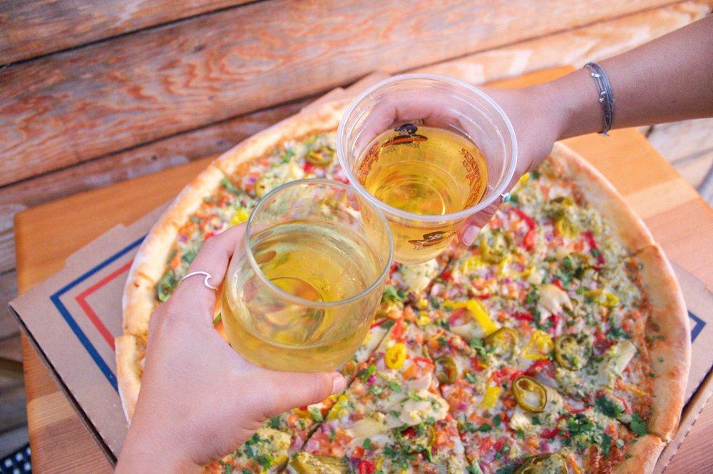 Surf Rider Pizza: 8381 La Mesa Blvd, La Mesa, CA