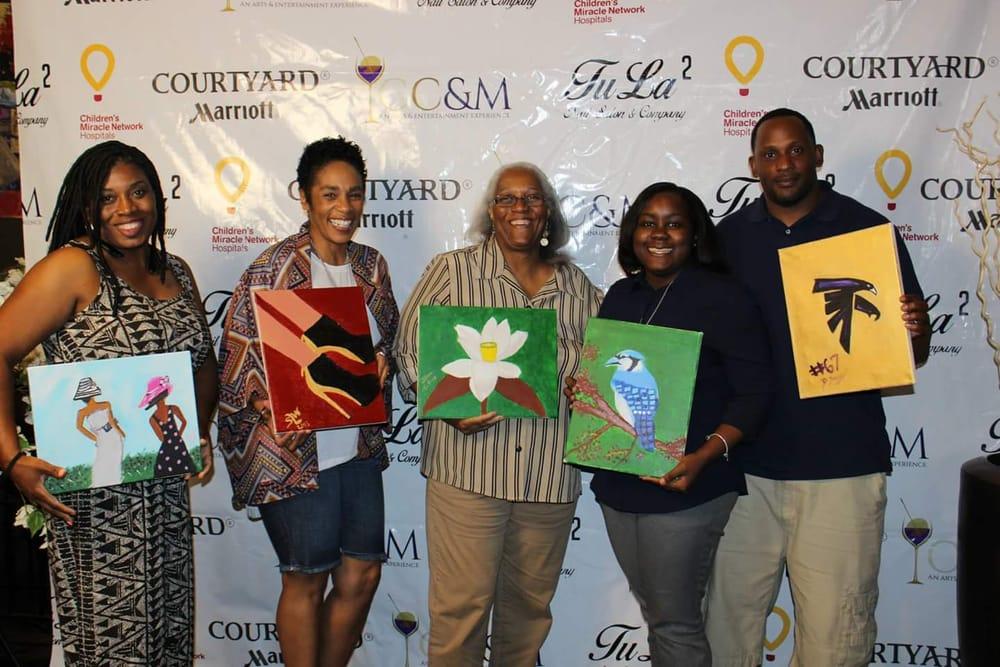 Canvases Cabernet & Merlot: 133 Carnegie Way NW, Atlanta, GA