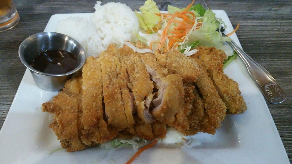 Chicken Katsu at Da Kitchen is amazing! In fact, everything looks ...