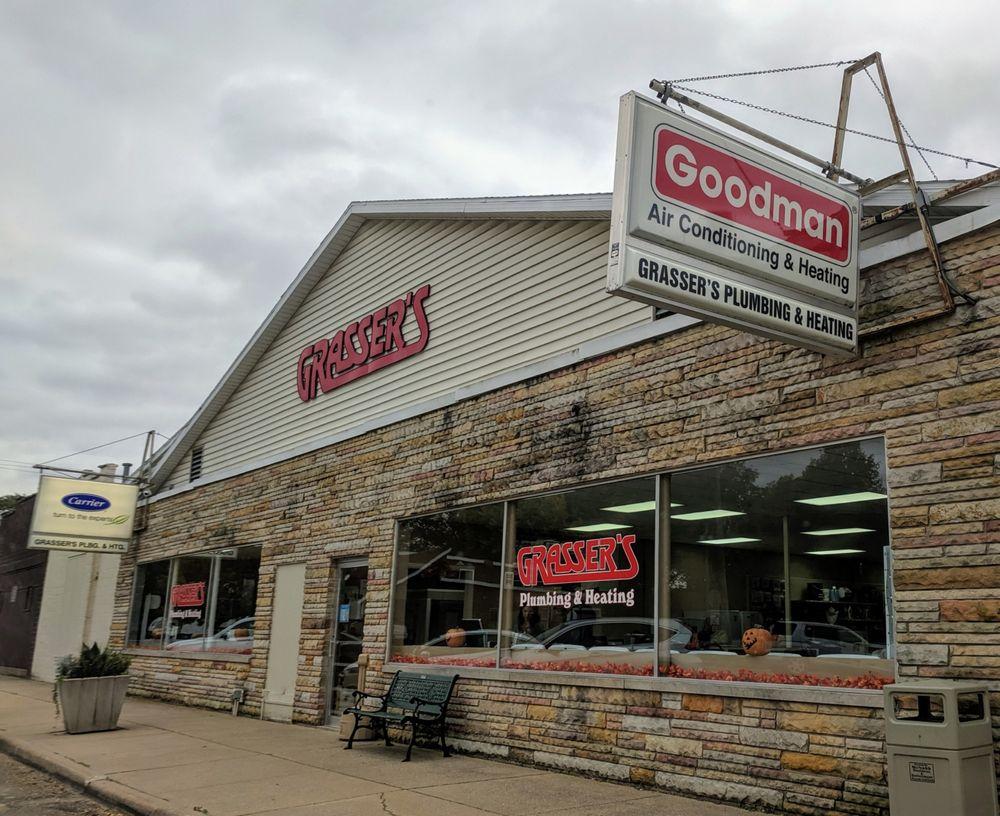 Grasser's Plumbing & Heating: 404 Main St, McNabb, IL