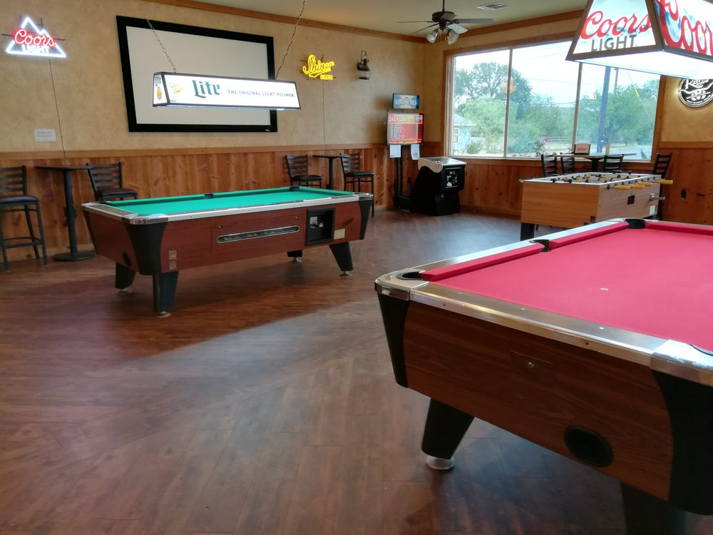 Our New Poolgame Room Currently With Ft Pool Tables Golden Tee - Old school pool table