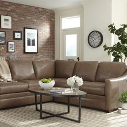 Photo Of Belfort Furniture Sterling Va United States Design Options Leather Sectional