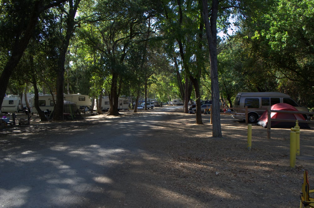 Rv Sites On The Left Tent Sites On The Right Yelp