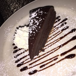 Louie's On The Avenue - Pearl River, NY, United States. Chocolate flourless cake delicious
