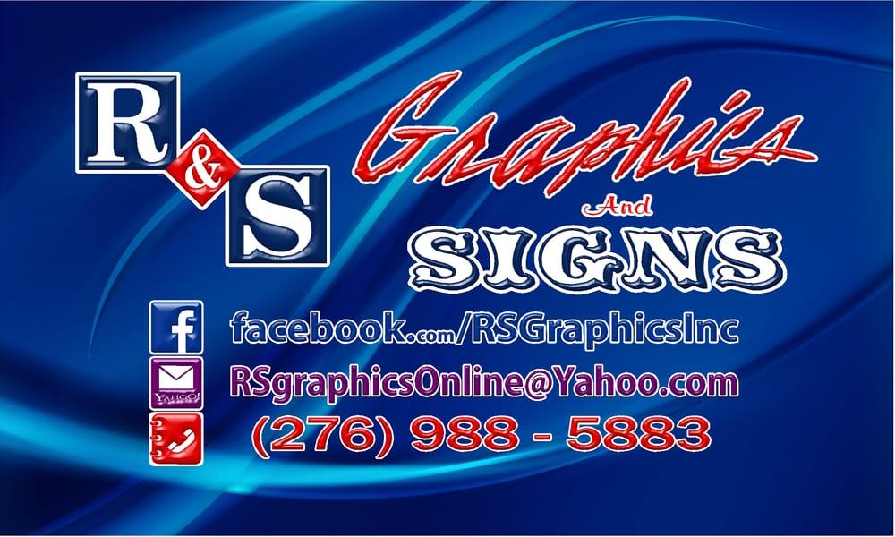 R & S Graphics: 901 A E Fincastle Tpke, Tazewell, VA