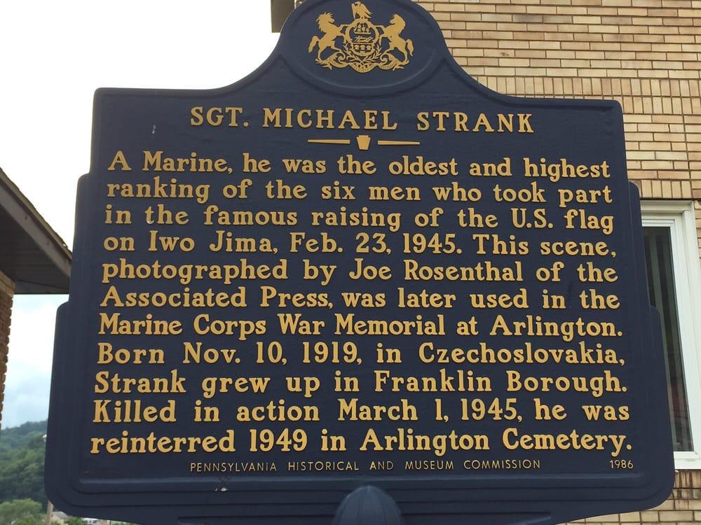Sgt Michael Strank Memorial Park: 1149 Main St, Johnstown, PA