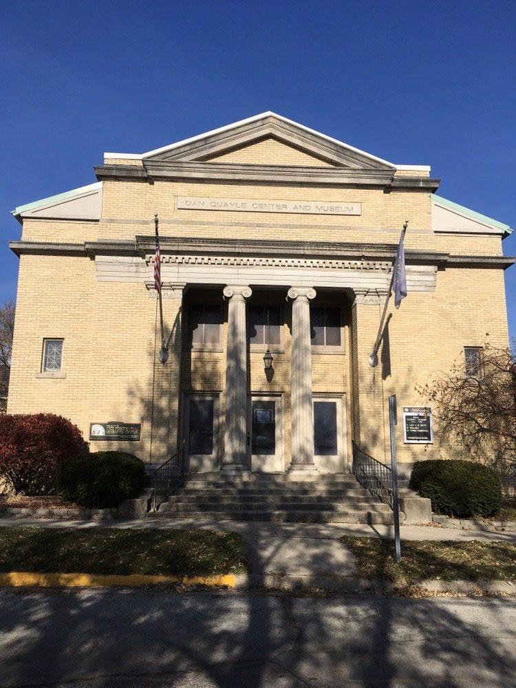 Dan Quayle Center and Museum: 815 Warren St, Huntington, IN